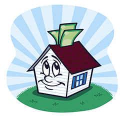 Дом с деньгами