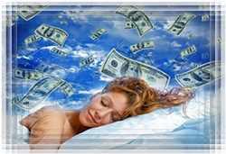 Деньги прибывают во сне