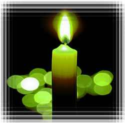 Зеленая свеча