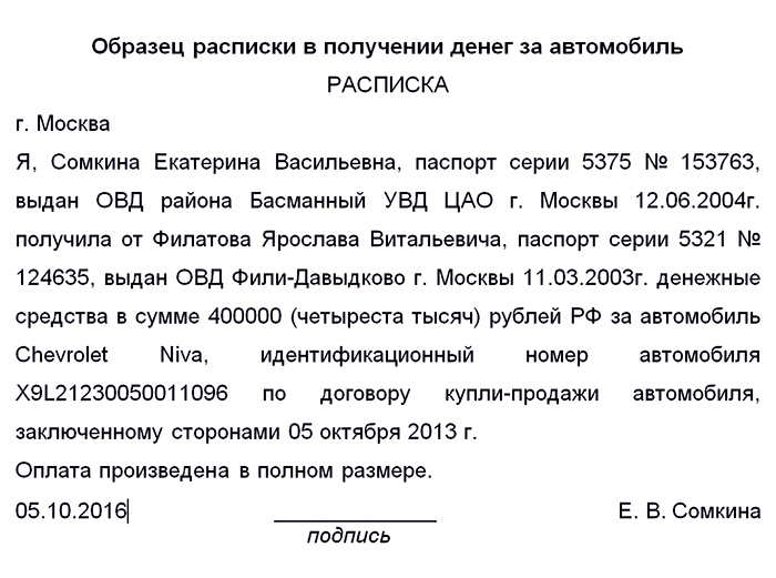 Расписка о задатке за квартиру образец Элвина