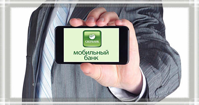 Мобильный банк в мобильном телефоне