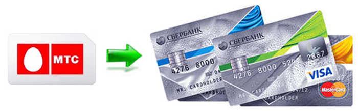 Перевод денег с МТС в Сбербанк