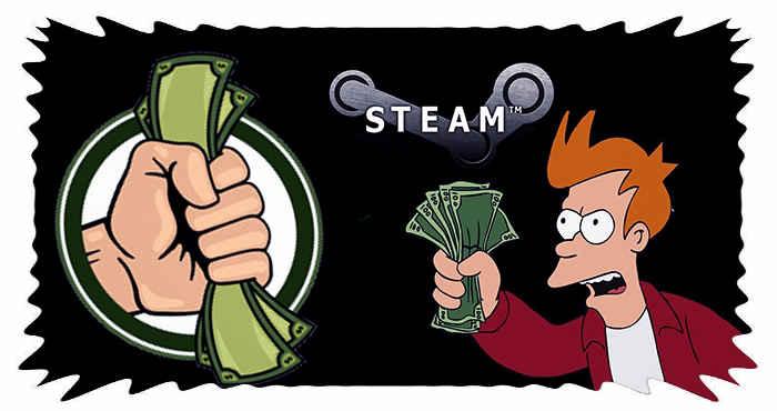 получить деньги за игр